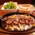 武蔵小杉バール・デルソーレ - 鉄板ステーキ
