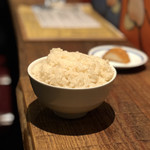 106709653 - 波へいのおでん出汁で炊いたご飯
