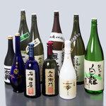 九頭龍蕎麦 - 福井の地酒が常時30種以上