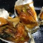 和豪 - 牡蠣の自家製チリソース炒め