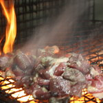 博多 きむらや - 新鮮地鶏の炭火焼  小450円 大850円