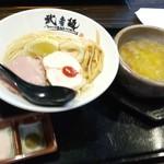 武者麺 - 料理写真:淡麗つけ麺