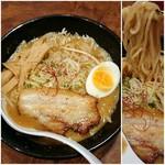 蝦千 - 料理写真:札幌味噌ラーメン 860円