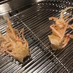 106712221 - 車海老の足。カリッとした食感と海老の香りが引き立っています。