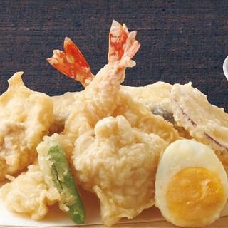 【リーズナブルに◎】天とよ自慢の天ぷら&串天