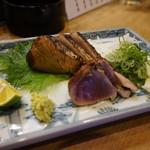 みつぼ - かつを わら焼き塩タタキ