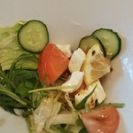 すし大臣 - 料理写真:クリームチーズのサラダ