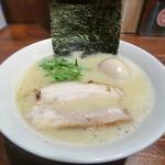 106722921 - 【(限定) たいいいいラーメン + 味付半熟煮玉子】¥850 + ¥100