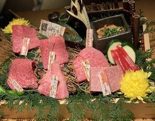 はなもんや - 特選和牛赤身2種 特選和牛希少部位3種 ホルモン 焼き野菜