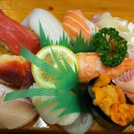 幸すし - 料理写真:竹にぎり  1500円
