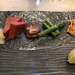 510 CHINESE RESTAURANT+STEAK HOUSE - 旬のお野菜と大海老の頭