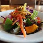 OSTERIA BARABABAO - 産直野菜のサラダ