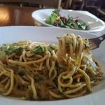 OSTERIA BARABABAO - 極太麺のビーゴリはモチモチの食感