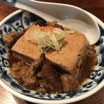 106727884 - 牛スジ煮込み豆腐
