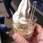 杉養蜂園  - はちみつソフトクリーム。