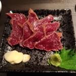 肉料理専門店 瑞流 - 鹿刺身
