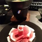 肉料理専門店 瑞流 - 牡丹鍋