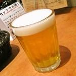 魚deバール ウオチカ。 - 【ランチ】ランチビール(ザ・プレミアムモルツ)