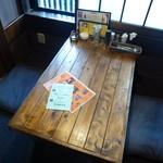 麻担坊 - 2Fテーブル席