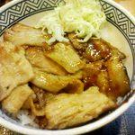 吉野家 - 焼味豚丼
