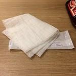 Shirakawa - 紙ナプキンとは思えないボリュームでした。高級店だから?