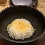 106730678 - 鉄鍋卵雑炊