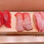 つきぢ神楽寿司 - まぐろづくし