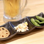 わだ泉 - 小鉢3種