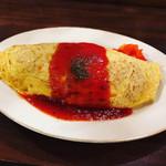 グリル&洋食 アガペ - 昔ながらのオムライス800円(税込)