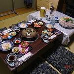 武ちゃん - この他に焼きふぐと白子 雑炊 デザートが出る ふぐのFコース5800円