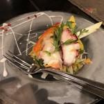 シェフ・デ・ブッチョ - タコと野菜のマリネ