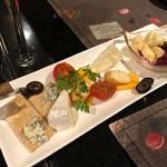 シェフ・デ・ブッチョ - チーズの盛り合わせ