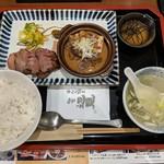 牛たん焼き 仙台辺見 - 【2019/4】上たん焼き牛すじ煮込み定食