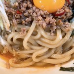 フジヤマゴーゴー - 台湾まぜそばの麺