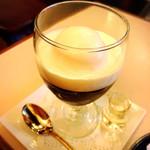 銀座 和蘭豆 - モカゼリー!はちみつをかけて食べてね!最高に美味しい!