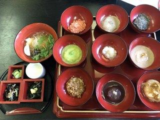 蔵元レストラン せきのいち - 果報餅膳 2,200円