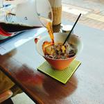 Cafe Mimpi - コーヒーを入れてもらいます✨