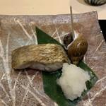 味あら井 - 対馬産ノドグロの塩焼、ベイニシ貝