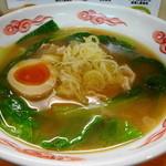 和・陽春 まつ井 - こってり醤油ラーメン 麺の量が130グラムの満足な量