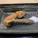味あら井 - まじゃく(穴蝦蛄)とメヒカリの唐揚げ