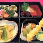 106755707 - とりどりの和食の膳