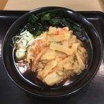 106756574 - キャーーー!!!天ぷら蕎麦!                                              久しぶりの『名代富士そば』                                              黒い汁がお江戸のお蕎麦ヽ(´o`