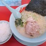山岡家山形西田店 - 塩ラーメン及び半ライス770円