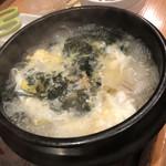 ニク マッスル スグル - たまごスープ