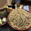 道の駅 長野市大岡特産センター - 料理写真:特盛ざるそば ¥950