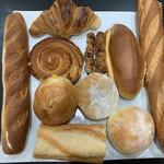 グラマー・ペイン - 買ったパンたち