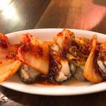 かき小屋フィーバー1111 - 牡蠣キムチ