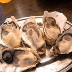 かき小屋フィーバー1111 - 生牡蠣