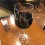 洋食や 三代目 たいめいけん - グラスワイン(赤)