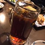 すし居酒屋 アルプス - 烏龍茶